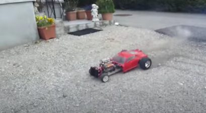 v8 rc hot rod