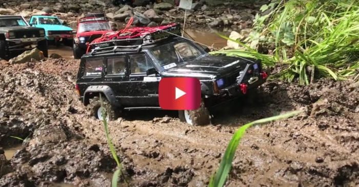RC Trucks Go Off-Roading in Italy