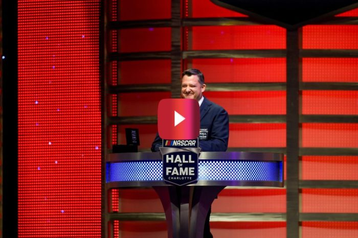 Tony Stewart Thanked His Ex-Girlfriends in NASCAR Hall of Fame Speech