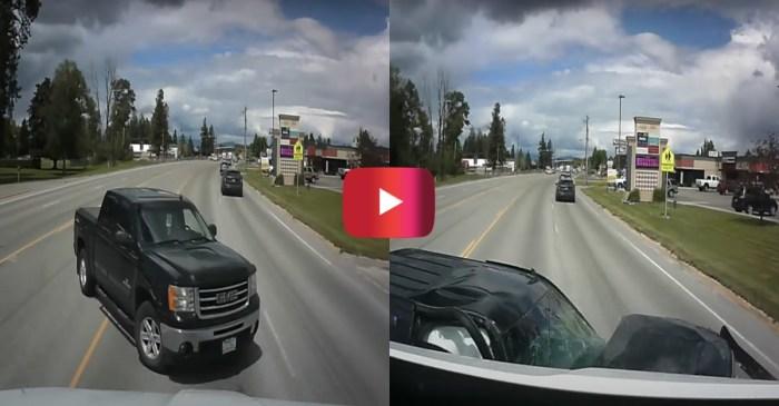Elderly Driver's Wrong Turn Causes Devastating Truck Crash