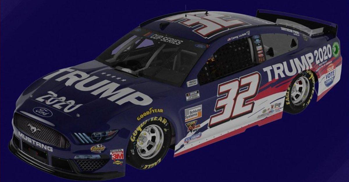 trump 2020 car