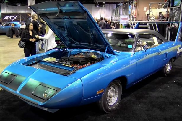 This Ultra Rare '70 Plymouth Superbird Has Only 674 Miles on It