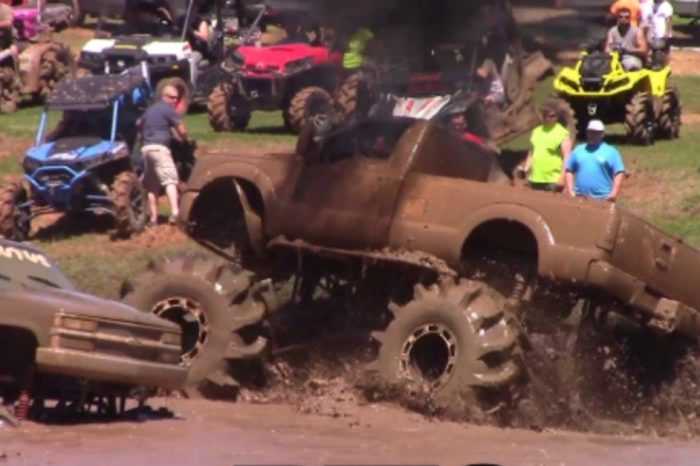 Big Trucks Come out to Play at Louisiana Mudfest