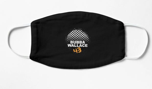Bubba Wallace Short-Sleeve Unisex T-Shirt - Bubba Wallace Face Mask - Funny Protection Mask Mask