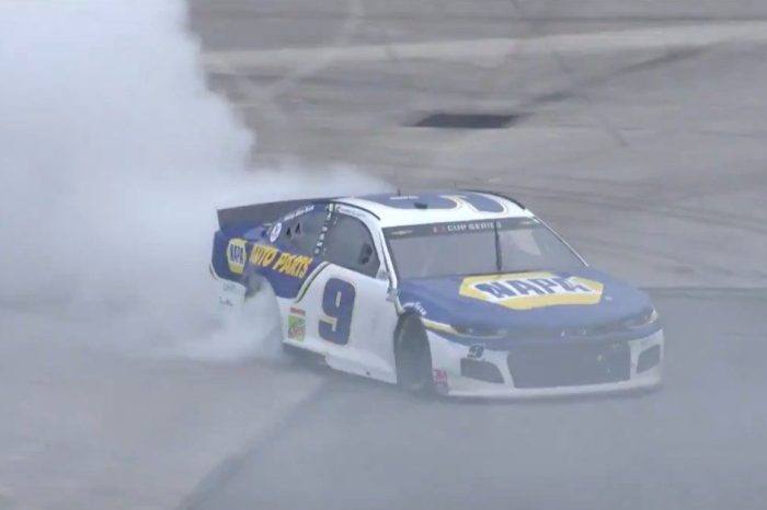 Chase Elliott Rips Incredible Burnout After Daytona Road Course Win