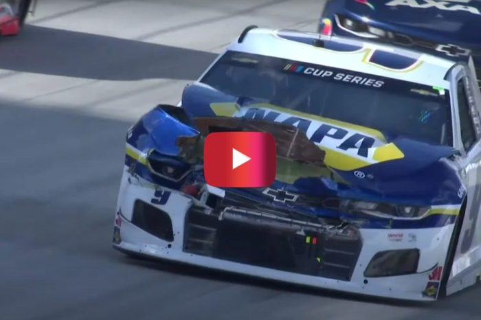 Multi-Car Wreck Eliminates Chase Elliott From Dover Race