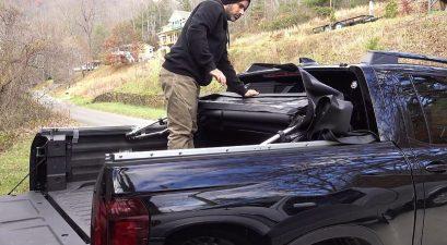 compact pickup camper