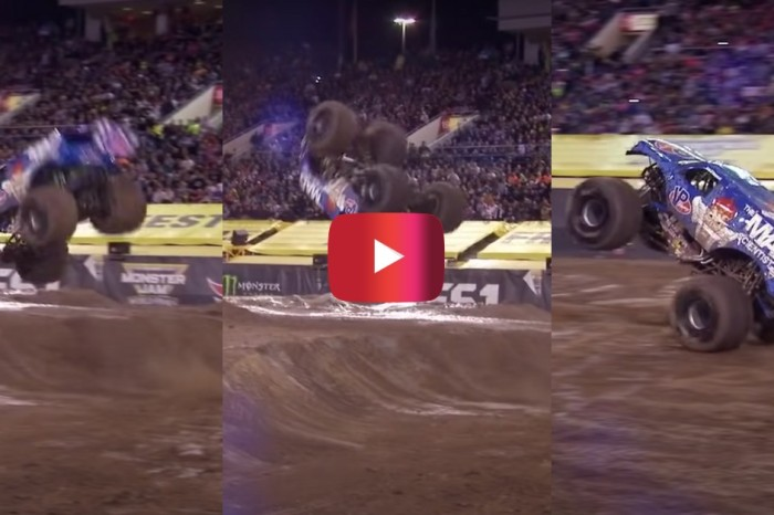 The First Monster Jam Front Flip Was One Happy Accident