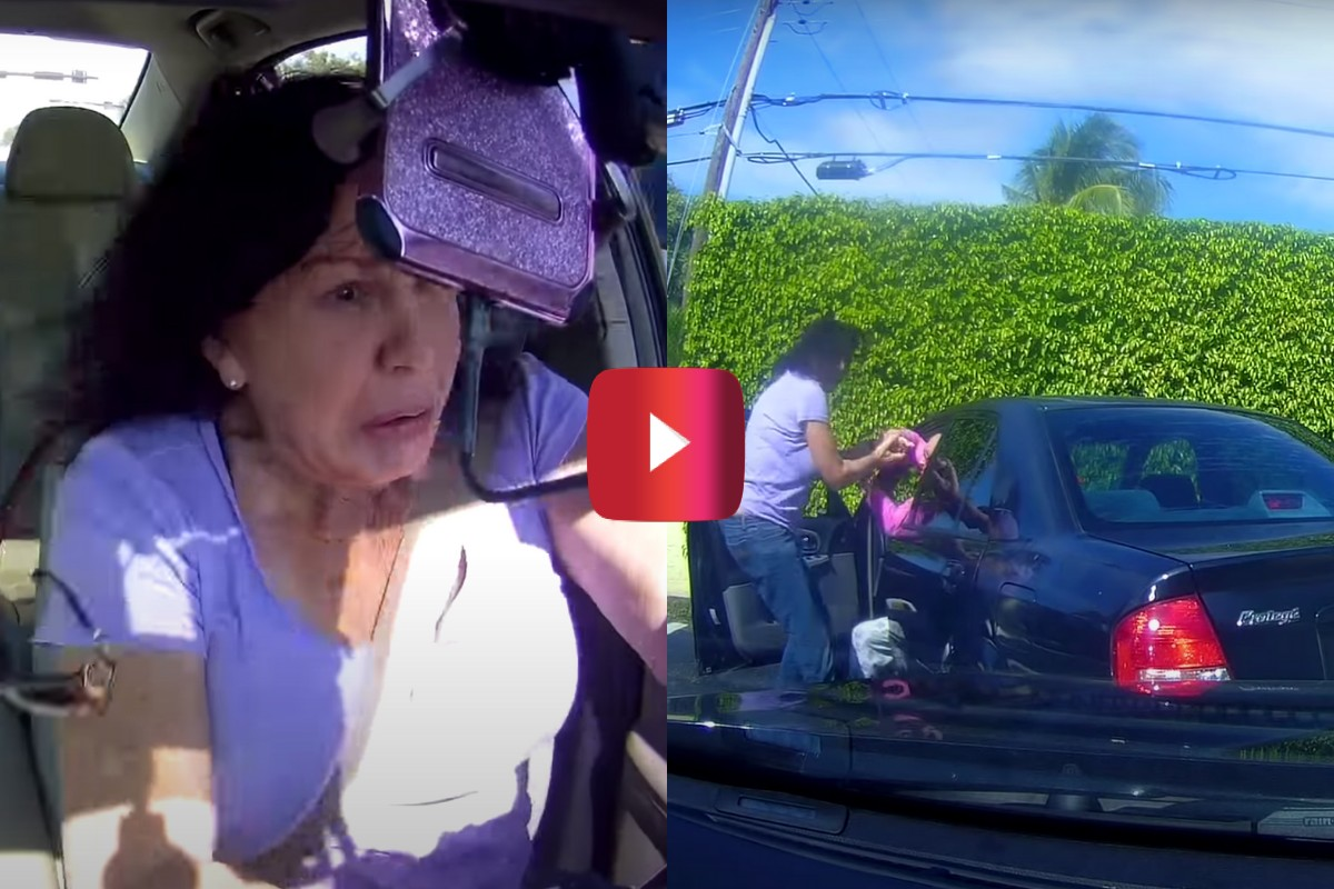 florida woman chases down hit and run driver