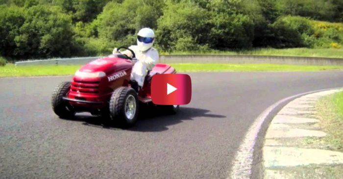 """130 MPH Lawnmower Was Custom Made for """"Top Gear"""""""