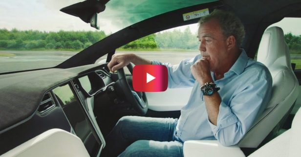 Jeremy Clarkson Reviewed the Tesla Model X and Was Pleasantly Surprised