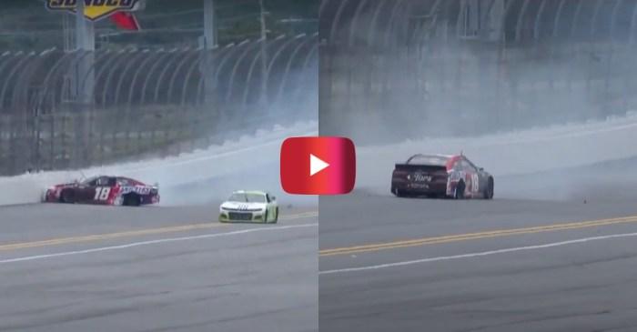 Kyle Busch Wrecks out at Daytona Road Course