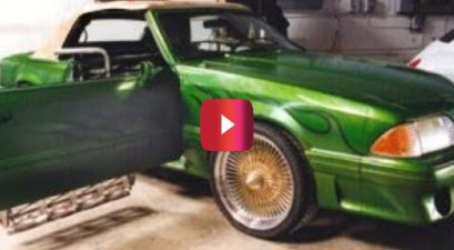 monster garage mustang mower