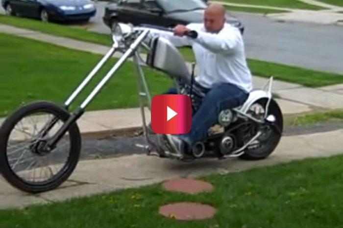 Man Tries Impressing His Friend With Motorcycle Burnout, But It All Goes Hilariously Wrong