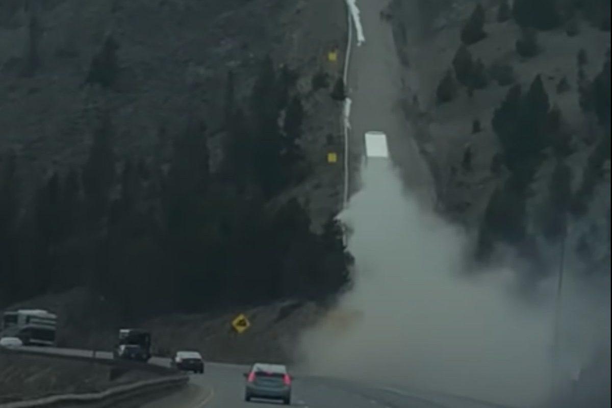 semi truck runaway ramp