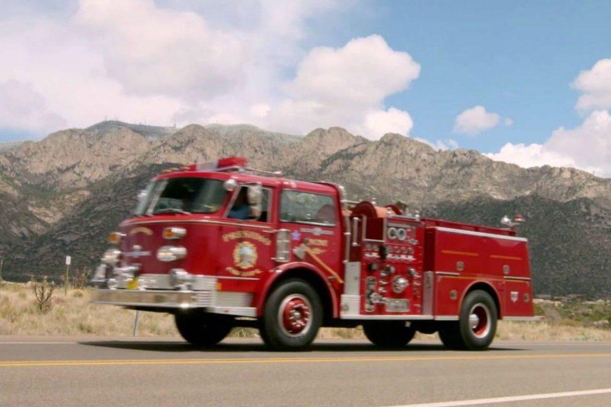 1981 american lafrance 9_11 firetruck