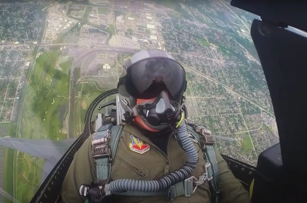 Incredible Footage Shows the First Double Flyover in Indy 500 History