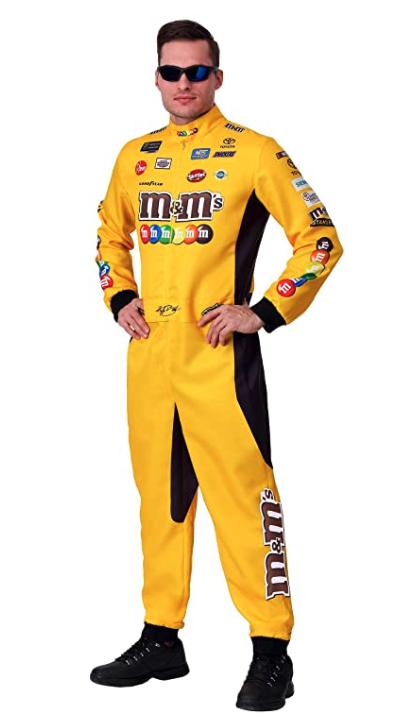 Fun Costumes Uniform Costume of NASCAR Kyle Busch Yellow