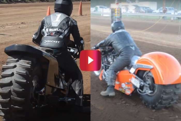 Motorcycle Dirt Drag Racing Looks Like an Epically Awesome Time