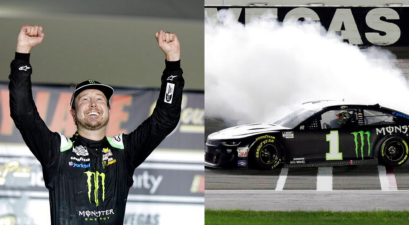 Kurt Busch Ends 0-21 Streak With Upset Win at Las Vegas