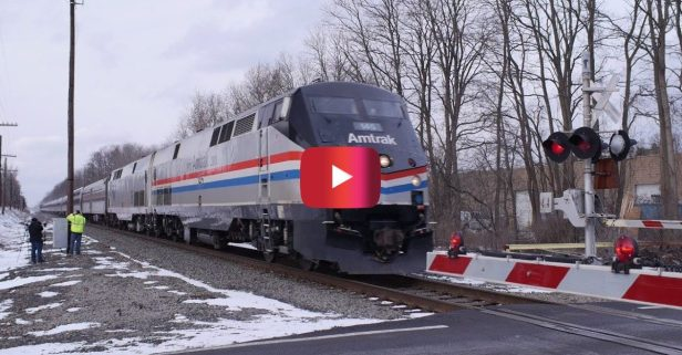 High-Speed Amtrak Train Hits 110 MPH
