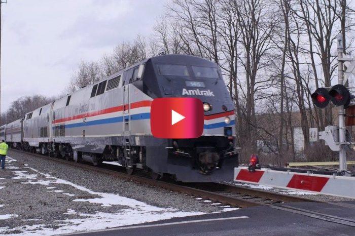 High-Speed Amtrak Train Hits 110 MPH