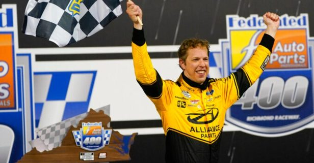 """Keselowski Dominates in Richmond Playoff Win: """"It's a Chess Game and I Got Blinders On"""""""
