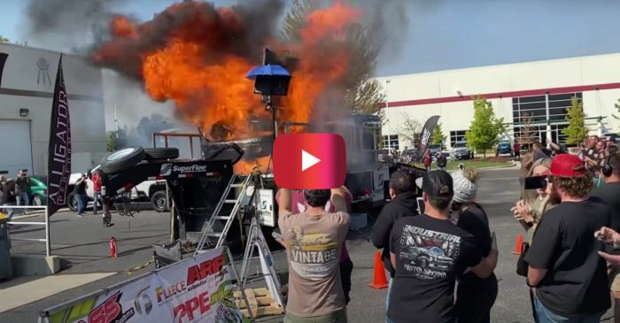 Dodge Truck Explodes During 3,000-HP Dyno Attempt