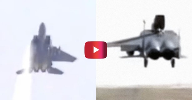F-15 Fighter Jet Lands With Only 1 Wing
