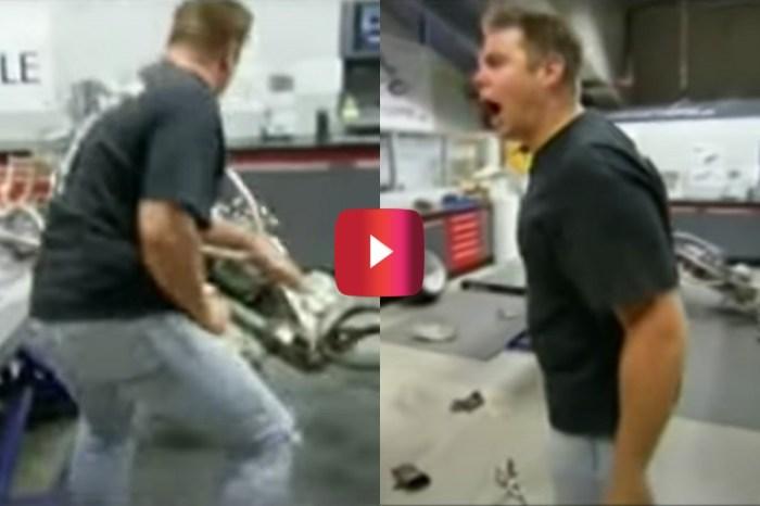 "Bike Designer Jason Pohl Goes Nuts in ""American Chopper"" Meltdown"