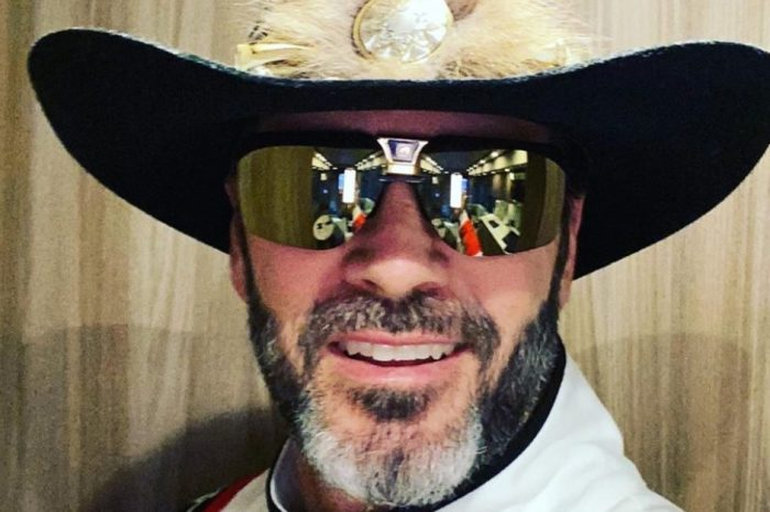 Jimmie Johnson Dressed Like Richard Petty, Dale Sr. Before Southern 500