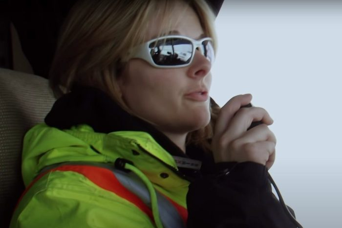 "Lisa Kelly Is a Badass on ""Ice Road Truckers"""