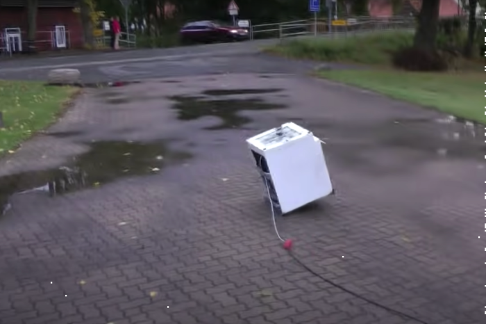 An RC Washing Machine? Just Wait Until You See It Spin!