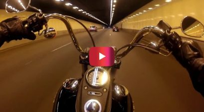 sound of harley-davidson engine while riding