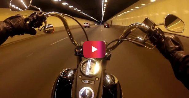The Satisfying Sound of a Harley Bike in Action