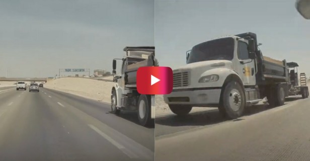Tesla Autopilot Avoids Truck Collision on Highway