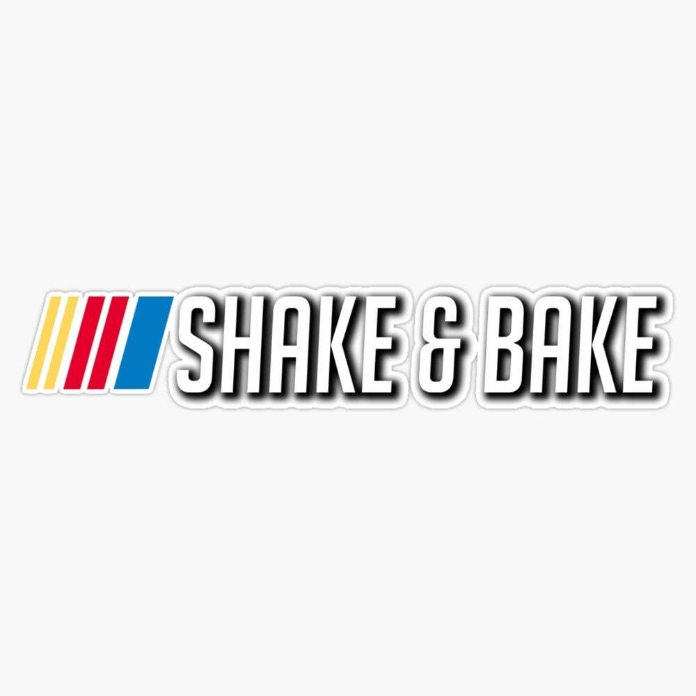 EMC Graphics Shake & Bake Sticker Decal Vinyl Bumper Sticker Decal Waterproof 5