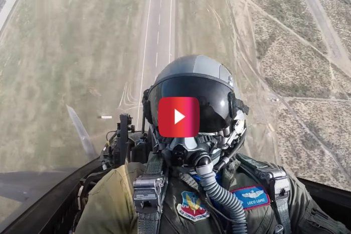 Video Gives an Epic Look Inside Cockpit of F-22 Raptor