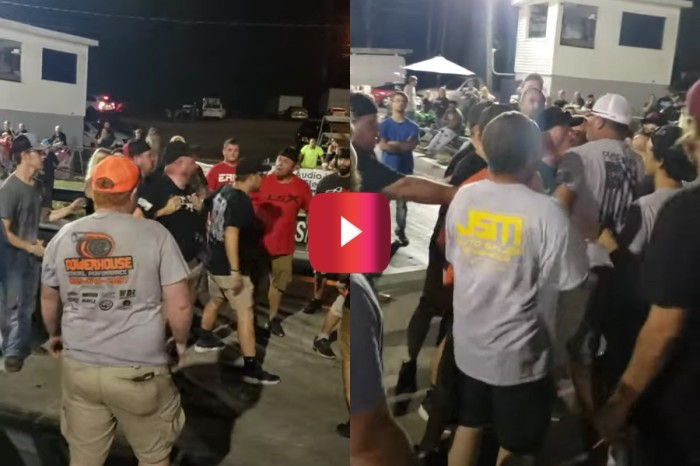 No Prep Racing Event Erupts Into Brawl