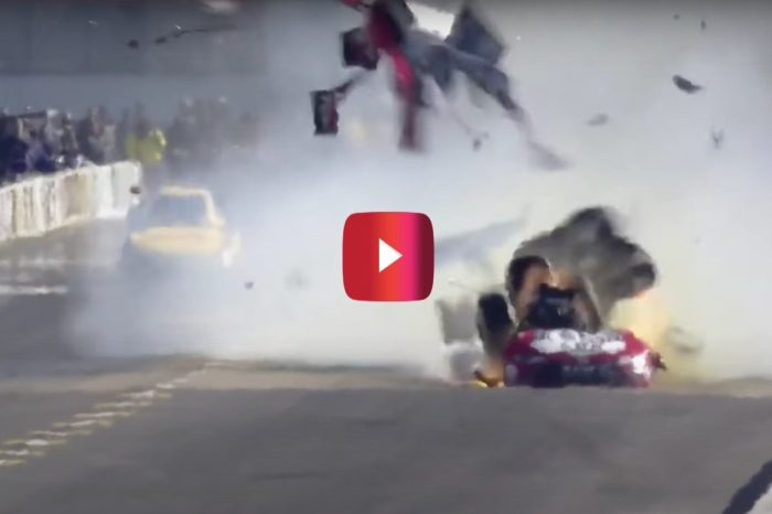 Funny Car Body Blows Off in Extreme Drag Racing Crash