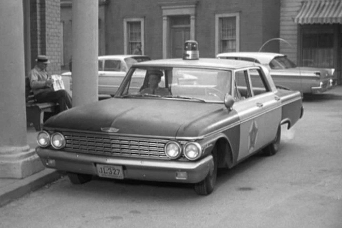 andy griffith police car