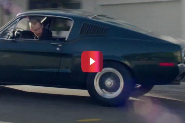 """Steve McQueen's Son, Gas Monkey Garage Recreate """"Bullitt"""" Car Chase"""