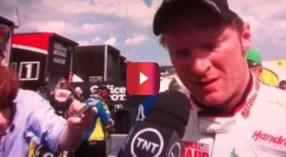 dale earnhardt jr. 2012 pocono 400 interview