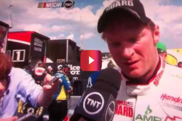 Dale Jr. Gives Unusual Interview Following 2012 Pocono Race