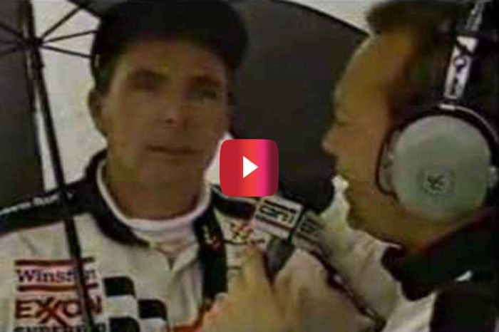 Darrell Waltrip Hilariously Plays Both Driver and Team Owner in Rain Delay Interview
