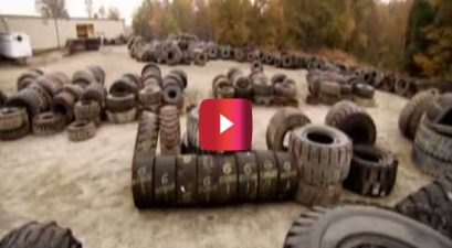 how truck tires are recycled