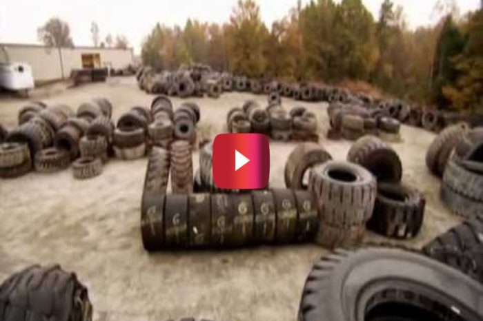 How Massive Tires Are Recycled