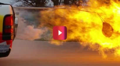 jet truck flash fries turkey