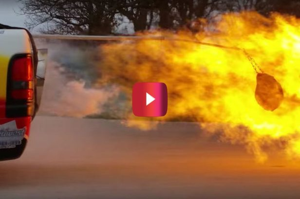 Jet Truck Roasts Turkey for Full-Throttle Feast