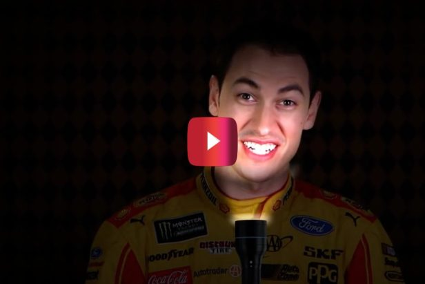 Joey Logano's Hot Dog Costume From Halloween Still Haunts Him to This Day